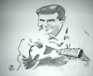 THE ANDY GRIFFITH SHOW ART/ORIGINAL #2 PENCIL DRAWINGS/11X14/SKETCHES/MAYBERRY