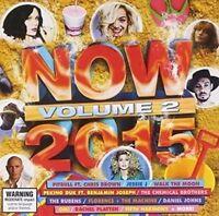 Now 2015 - Volume 2 CD NEW & SEALED Vol 2
