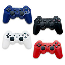 New Sony Playstation DualShock 3 Wireless Bluetooth Controller PS3 Black Red US