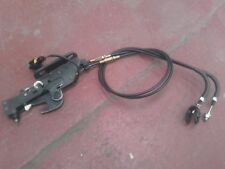 PEUGEOT 206 CC DRIVERS SIDE O/S ROOF BOOT LOCK CATCH WITH CABLE