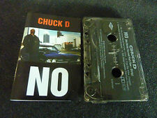 CHUCK D NO ULTRA RARE NEW ZEALAND CASSINGLE! PUBLIC ENEMY