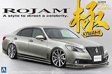 Aoshima 08522 1/24 scale Rojam 21 Toyota Crown Royal Saloon Kiwami from Japan