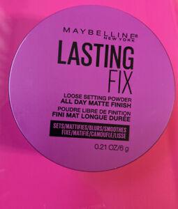 Maybelline Lasting Fix Loose Setting Powder All Day Matte Finish 0.21 oz HWS71W