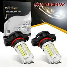 2x High Power White 5202 12086 33-Epistar-5730-SMD Bulbs LED Fog Driving Light