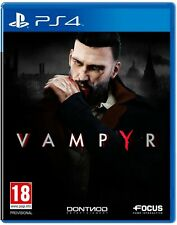 Vampyr PS4 PlayStation 4 Video Game Mint Condition UK Release