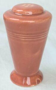 Vtg Homer Laughlin Fiestaware Fiesta Harlequin Salt & Pepper Shaker Rose Pin