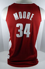 Alabama Crimson Tide Moore #34 Game Used Red Jersey