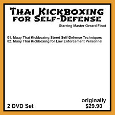 Gerard Finot's Thai Kickboxing for Self-Defense (2 DVD Set)