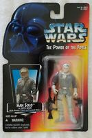 STAR WARS POWER OF THE FORCE HAN SOLO IN HOTH GEAR WITH CLOSED HAND VARIATION