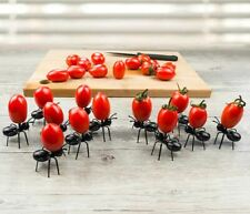 12 PCS Novelty Fun Party Ant Appetizer Hors D'oeuvre Funny Pick Fork Reusable FS