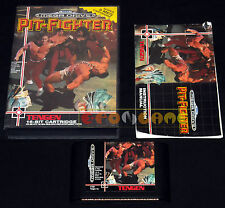 PIT-FIGHTER Megadrive Md Mega Drive Versione Europea PAL ••••• COMPLETO