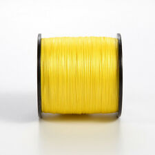 500M 80LB Dyneema Fishing Line Strong Braided 4 Strands Yellow Fish Line