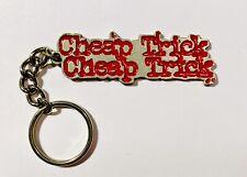 Vintage Cheap Trick Enamel Keychain 2001 Tour Official From Show Rick Nielsen