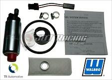 Genuine Walbro 255lph Hp Fuel Pump Kit Grand National Corvette Camaro Firebird (Fits: Pontiac Fiero)
