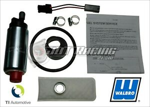 Genuine Walbro 255lph HP Fuel Pump Kit Grand National Corvette Camaro Firebird
