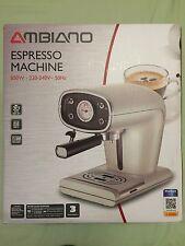 Ambiano Espresso Machine 850W - 220-240V ~ 50Hz - 15 Bar Pressure - 850 Watts