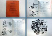 MWM D308-2 D308-3 Dieselmotor Ersatzteilliste Spare Parts List