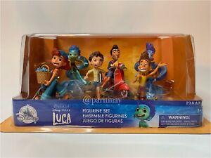 NEW 2021; Disney Pixar's Luca Figurine Play Set Includes 6 Figures (NEW IN BOX)