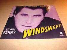 "BRYAN FERRY - WINDSWEPT  !!! RARE MAXI 45 TOURS / EURO 12"""