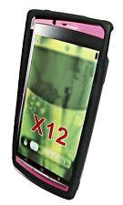 Silikon TPU Handy Hülle Cover Case Schwarz für Sony Ericsson Xperia Arc - Arc S