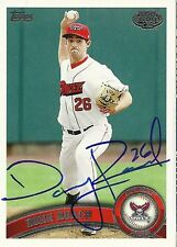 2011 Topps Pro Debut DONN ROACH Signed Card CUBS auto rc donnie Vegas