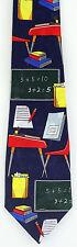 School Desks Mens Necktie School Teacher Classroom Education Desk Neck Tie New