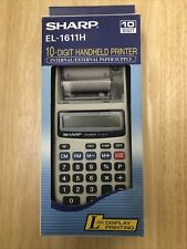 Sharp El-1611H Electronic Printing Calculator- Ac Adapter Not Included
