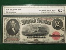 FR 60 1917 $2 Legal Tender Note GEM Uncirculated