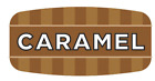 """Caramel Labels 1000 /Roll Food Store Flavor Stickers .625"""" X 1.25"""