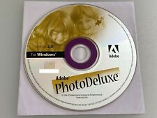Adobe Photo Deluxe version 2.0 Windows CD Software Disc Only