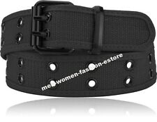Mens Womens Unisex Military Camouflage CAMO Cargo Shorts Web Cotton Canvas Belt