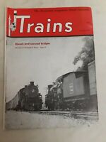 "Vintage ""Trains"" The Magazine of Railroading- 1949- Complete set of 12"