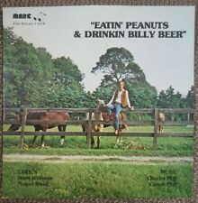 Eatin' Peanuts & Drinkin Billy Beer Vinyl COVER ONLY NO RECORD Hank Williams