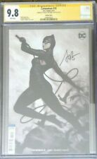 """Catwoman #10 variant cover__CGC 9.8 SS__Signed by Stanley """"Artgerm"""" Lau"""
