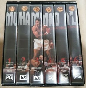 Muhammad Ali: The Whole Story - VHS Warner Bros. Collector Set. (2000)