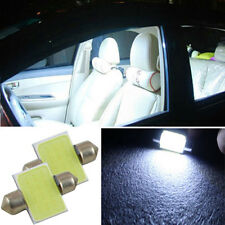 2x Ultra 3W Auto COB LED Soffitte Innenraumbeleuchtung Licht Birne Weiß 31mm
