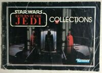 STAR WARS Return of the Jedi small vintage 24-page toy catalog (1983) Kenner