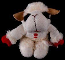 "Lambchop Aurora Lamb Chop Bean Bag Stuffed Animal Plush Toy Doll 8"" tall"