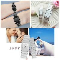 CHENXI couple square quartz men and women watch waterproof ceramic belt CX-104A