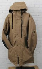 New 2018 686 Mens Flight Insulated Snowboard Jacket Large Khaki