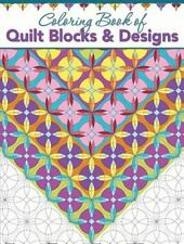 Coloring Book of Quilt Blocks and Designs by Helen Stubbings