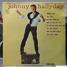 JOHNNY HALLYDAY N° 3 MADISON TWIST 33 T 25 CM PHILIPS 6313 149  RE 1981