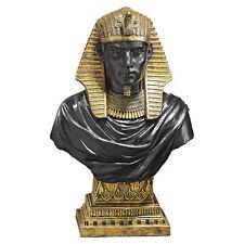 Egyptian King Dynasty Statue Rameses Bust Sculpture Egypt Figurine Art Decor