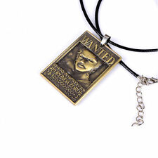 New One Piece Wanted Necklace Zoro Wanted Cosplay Pendant