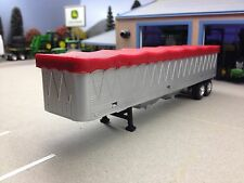 1/64 ERTL GRAIN TRAILER W/ RED TARP