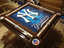 Let us Frame Your Yankees Poster by Domino Tables by Art