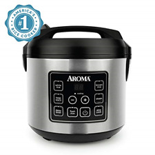 Aroma ARC-150SB 20-Cup Digital Rice Cooker and Food Ste