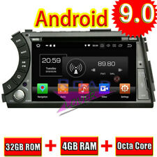 Android 9.0 Car DVD Player For Ssangyong Actyon Sports 2005-2013 GPS Navi Stereo