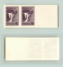 Lithuania 1990 SC 372 MNH proof pair small size . f2704