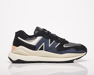New Balance 57/40 Women's Navy Black Lifestyle Lace Up Sneakers Casual Shoes